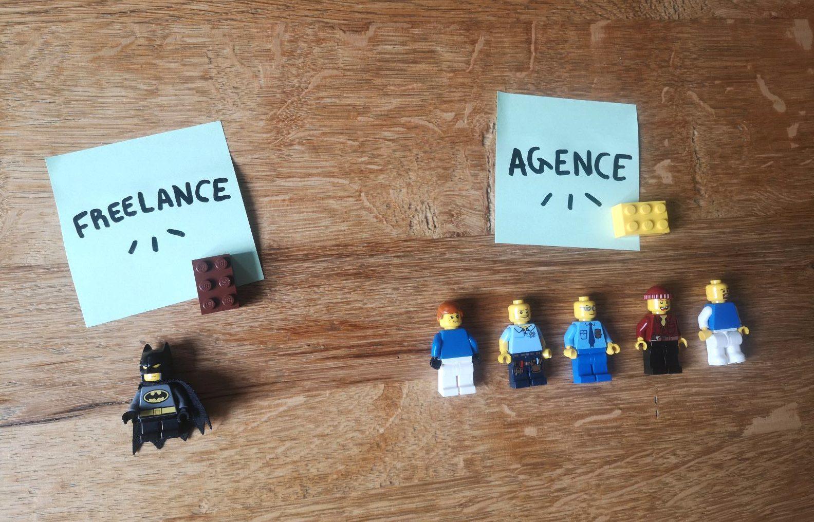 De freelance à agence : Le feedback